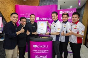 TICKET2U – MALAYSIA FIRST INTERACTIVE EVENT MANAGEMENT KIOSK   6916