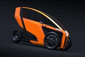 Leaning Maneuverability Electric Vehicles AKO Trike