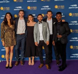 Rezdy's media agency, Rocket, wins big at the SEM Rush Awards in Sydney Australia.