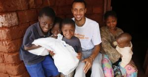 Stephen Curry to talk passion projects Nothing But Nets, Slyce at DisruptSF