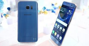 Samsung brings the Note 7's Blue Coral color to the Galaxy S7Edge