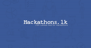 All Hackathons in One Place | Launch of Hackathons.lk