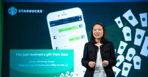 WeChat users in China can now gift friends a Starbucks coffee viachat