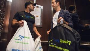To-your-door laundry service cleans up by selling convenience
