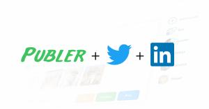 Publer coming for Twitter and LinkedIn | Publer's Blog