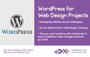 Use Wordpress Content Management System for Web Design Projects
