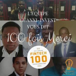 Guanxi Invest figure à seulement 6 mois d'existence dans le top 100 Fintech les plus prometteuses en Afrique - Camernews