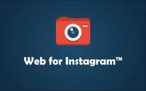 Web for Instagram: