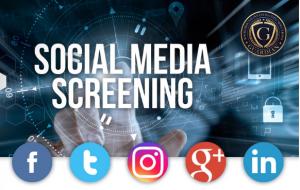 Social Media Screening Software/Service